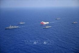 Thổ Nhĩ Kỳ và Hy Lạp tập trận riêng rẽ tại Đông Địa Trung Hải