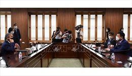 Tân Thứ trưởng Ngoại giao Hàn Quốc hội đàm với Đại sứ MỹHarry Harris