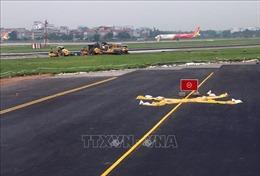 Dự án cải tạo, nâng cấp đường băng sân bay Nội Bài chậm tiến độ