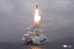 Thông tin về việc Triều Tiên có thể phóng tên lửa từ tàu ngầm