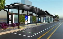 Seoul xây dựng nhà chờ xe buýt theo phong cách nhà truyền thống hanok
