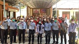 Đại sứ quán Việt Nam tại Indonesia tiếp xúc lãnh sự với các ngư dân bị tạm giữ