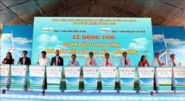 Động thổ Nhà máy điện gió Lạc Hòa – Hòa Đông tổng vốn trên 2.000 tỷ đồng