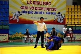 Khoảng 100 vận động viên tham dự giải Vô địch Jujitsu toàn quốc lần thứ II