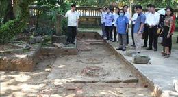 Ninh Bình nghiên cứu bảo tồn giá trị di tích khảo cổ vùng đất Gia Thủy