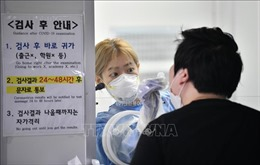 Số ca nhiễm mới virus SARS-CoV-2 theo ngày tại Hàn Quốc dưới mức 100