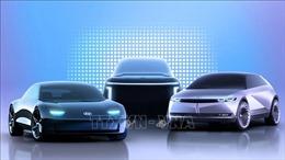 Hyundai trình làng hai mẫu xe điện tại triển lãm ô tô Bắc Kinh