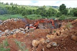 Đắk Nông: Người dân bức xúc trước tình trạng khai thác, vận chuyển đá bazan trái phép