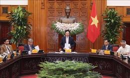 Phó Thủ tướng Phạm Bình Minhtiếp Đoàndoanh nghiệpcủa Hội phát triển hợp tác kinh tế Việt Nam-ASEAN