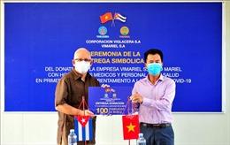 Doanh nghiệp Việt Nam đồng hành cùng Cuba chống dịch COVID-19