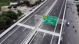 Tổ chức giao thông qua cầu cạn Vành đai 3 trên cao, đoạn Mai Dịch - Nam Thăng Long từ 6 giờ sáng 11/10