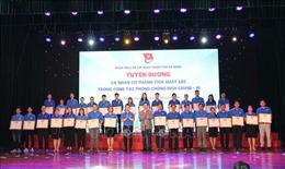 Đà Nẵng tuyên dương 107 thanh niên tình nguyện phòng, chống dịch COVID-19