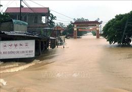 Lũ lên nhanh, cảnh báo nâng cấp độ rủi ro thiên tai từ Hà Tĩnh đến Thừa Thiên - Huế