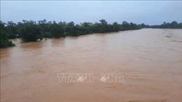 Người nuôi trồng thủy sản ở Vĩnh Sơn bị thiệt hại nặng do lũ lớn