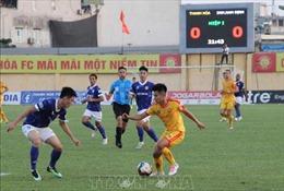 Thanh Hóa chật vật kiếm 1 điểm trên sân nhà trước Nam Định