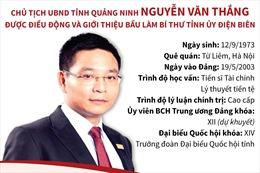 Chủ tịch UBND tỉnh Quảng Ninh Nguyễn Văn Thắng được điều động và giới thiệu bầu làm Bí thư Tỉnh ủy Điện Biên