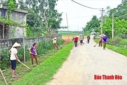 Phụ nữ Thanh Hóa chủ động, sáng tạo trongxây dựng nông thôn mới