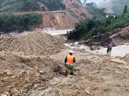 Vụ sạt lở tại Thủy điện Rào Trăng 3: Ước tính sạt lở hơn 30.000 m3 đất đá