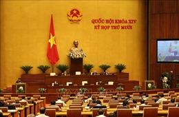 Kỳ họp thứ 10, Quốc hội Khóa XIV: Thông cáo báo chí số 4
