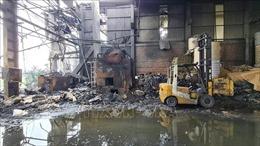 Nổ lò hơi trong xưởng sản xuất giấy khiến một người tử vong