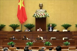 Kỳ họp thứ 10, Quốc hội khóa XIV: Kết thúc Đợt 1 theo hình thức trực tuyến tại Nhà Quốc hội