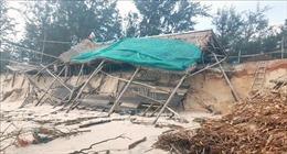 Sạt lở bờ biển nghiêm trọng gây nhiều thiệt hại tại Quảng Trị