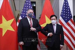 Phó Thủ tướng Phạm Bình Minh hội đàm với Ngoại trưởng Hoa Kỳ Michael Pompeo