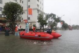 Mưa lũ gây nhiều thiệt hại ở Nghệ An