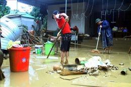 Tập trung khắc phục hậu quả mưa lũ tại huyện Thanh Chương, Nghệ An