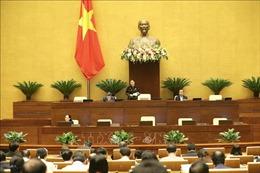 Thông cáo báo chí số 07, Kỳ họp thứ 10, Quốc hội khóa XIV