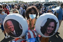 Bầu cử Mỹ 2020: Người dân New York đổ ra đường ăn mừng chiến thắng của ông Joe Biden