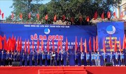 Ra quân tình nguyện mùa Đông 2020 và Xuân tình nguyện 2021