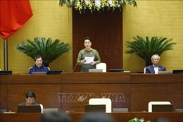 Thông cáo báo chí số 13, Kỳ họp thứ 10, Quốc hội khóa XIV