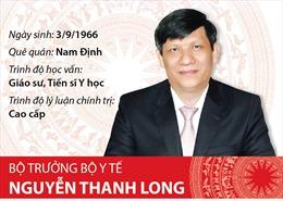 Bộ trưởng Bộ Y tế Nguyễn Thanh Long