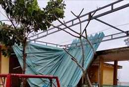 Cấp điện trở lại cho 95% khách hàng ở Thừa Thiên - Huế bị ảnh hưởng bão số 13