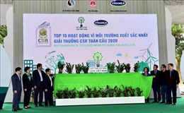 Hoàn thành vượt mốc 'Một triệu cây xanh cho Việt Nam'