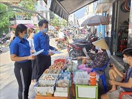 Tuổi trẻ Thành phố Hồ Chí Minh ra quân các đội hình phản ứng nhanh phòng, chống dịch COVID-19