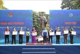 20 tập thể, cá nhân nhận giải thưởng Tình nguyện quốc gia năm 2020