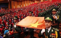 Tự hào người lính quân hàm xanh trên mảnh đất cội nguồn cách mạng