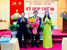 Đồng chí Trần Phước Hiền giữ chức Phó Chủ tịch UBND tỉnh Quảng Ngãi