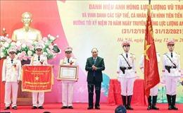 Thủ tướng trao danh hiệu Anh hùng LLVTND cho Cục An ninh điều tra, Bộ Công an
