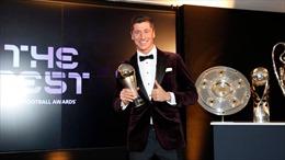 Lewandowski giành danh hiệu Cầu thủ nam xuất sắc nhất thế giới