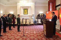 Phòng Tùy viên Quốc phòng Việt Nam tại Hoa Kỳ kỷ niệm 76 năm Ngày thành lập Quân đội Nhân dân Việt Nam