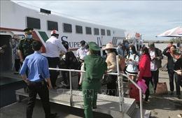 Đưa vào hoạt động tuyến tàu cao tốc Rạch Giá - Hòn Nghệ