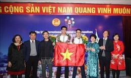 Học sinh Hà Nội xuất sắc giành 5 huy chương vàng Olympic Quốc tế
