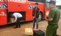 Bắt đối tượng chuyển 60 kg pháo lậu tại Bình Phước