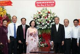 Lãnh đạo Đảng, Nhà nước thăm, chúc mừng Giáng sinh tại TP Hồ Chí Minh