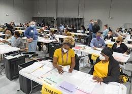 Cuộc bầu cử Thượng viện ở bangGeorgia ghi nhận số cử tri bỏ phiếu sớm cao kỷ lục