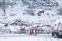 Tìm thấy thi thể người đàn ông cùng con gái 2 tuổi trong vụ lở đất ở Na Uy