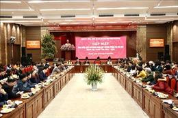 Bí thư Thành ủy Hà Nội Vương Đình Huệ: Không có hạn chế đối với thông tin báo chí